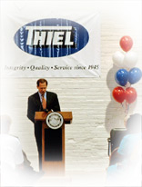 Mayor Slay at the Thiel Plant