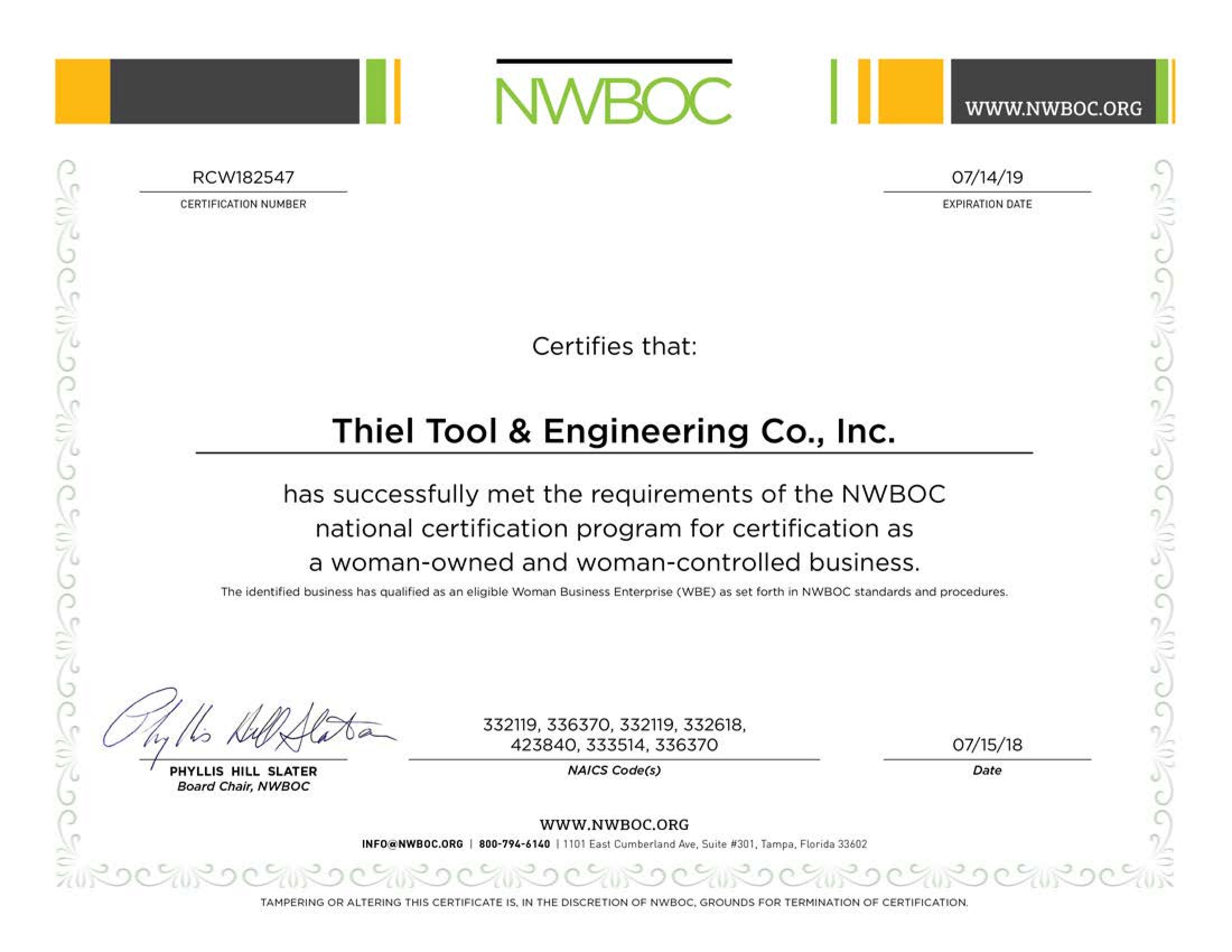 Thiel tool and engineering company manufacturing capabilities enlarge 1betcityfo Image collections